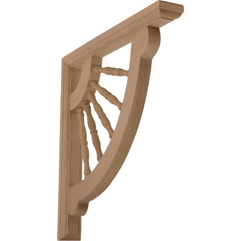 """Wood Bracket 1-1/2""""W X 12""""D X 12""""H"""