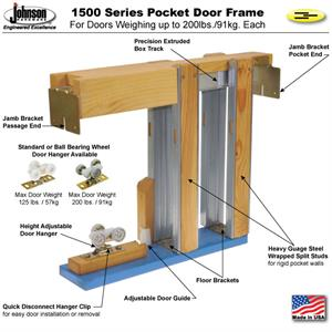 Pocket Door Frame Knock Down By Johnson