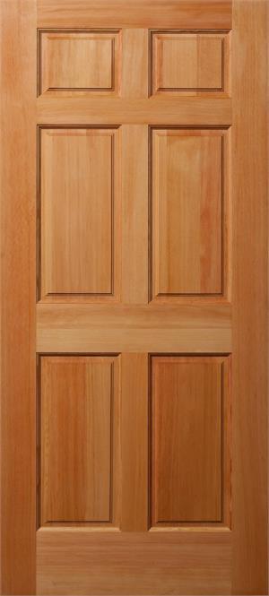 4130 Exterior Panel Wood Door