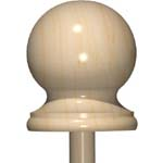 Finial/Post Tops